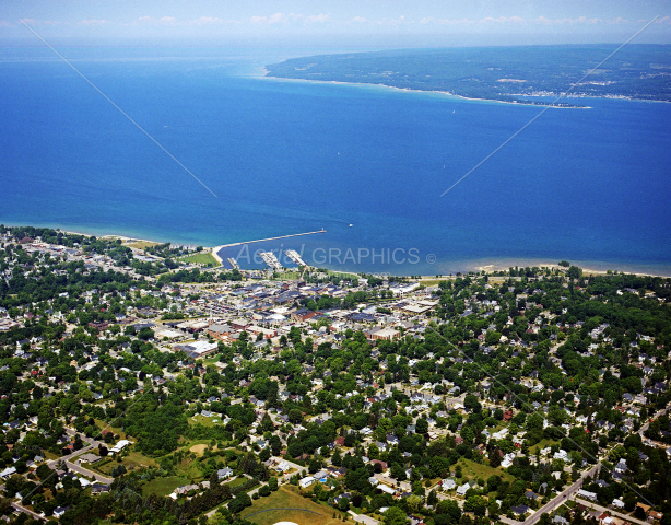 Petoskey in Emmet County, Michigan