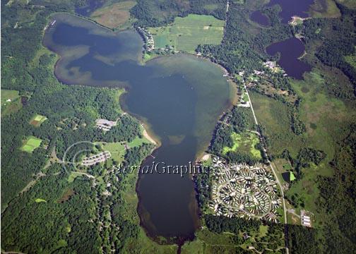 Waterloo Recreation Area - Big Portage Lake